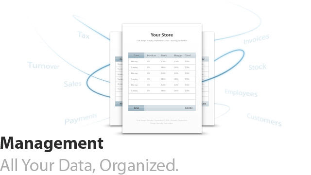 Management: All Your Data, Organized.